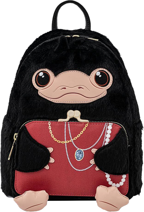 Loungefly Niffler Plush Cosplay Mini Backpack Apparel