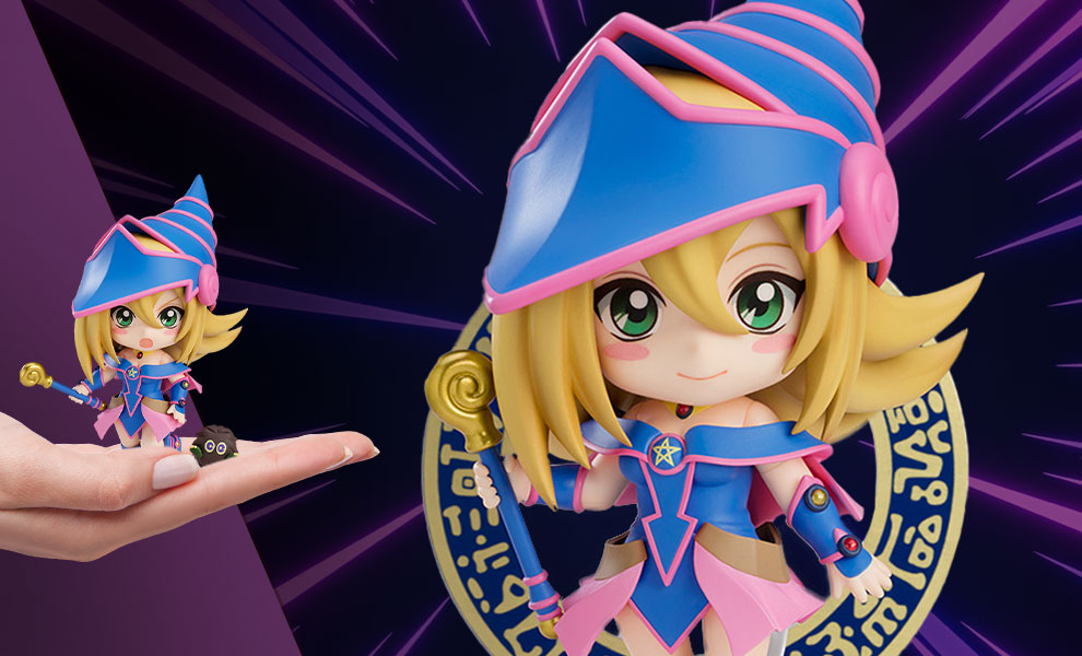 Gallery Feature Image of Dark Magician Girl Nendoroid Collectible Figure - Click to open image gallery