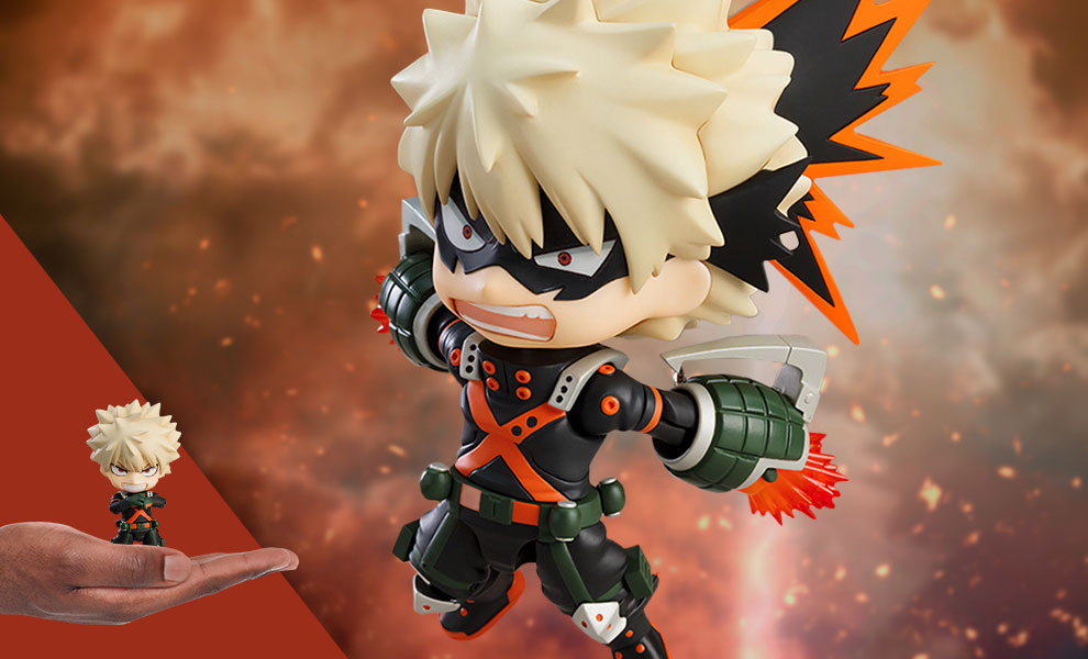 Gallery Feature Image of Katsuki Bakugo Nendoroid Collectible Figure - Click to open image gallery