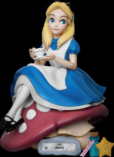 Alice in Wonderland Polystone Statue