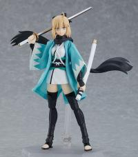 Gallery Image of Saber/Okita Souji Figma Ascension Version Collectible Figure