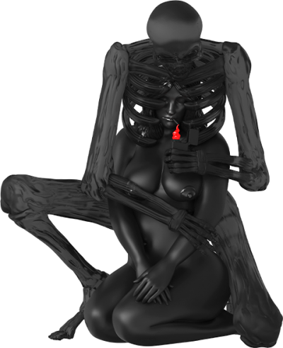 Keep Me In Your Heart (Spectre Edition) Polystone Statue