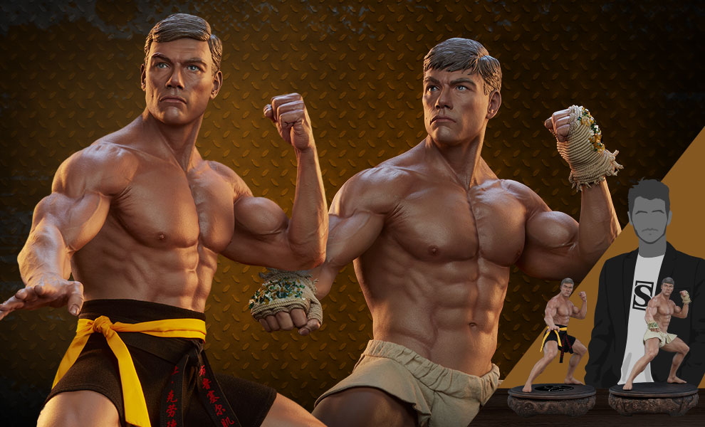 Gallery Feature Image of Jean-Claude Van Damme: Evo Autograph Edition Tribute 1:3 Scale Statue - Click to open image gallery