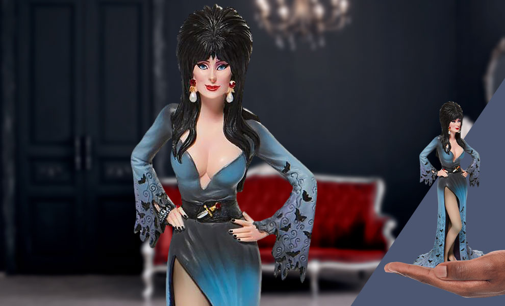 Gallery Feature Image of Elvira Couture de Force Figurine - Click to open image gallery