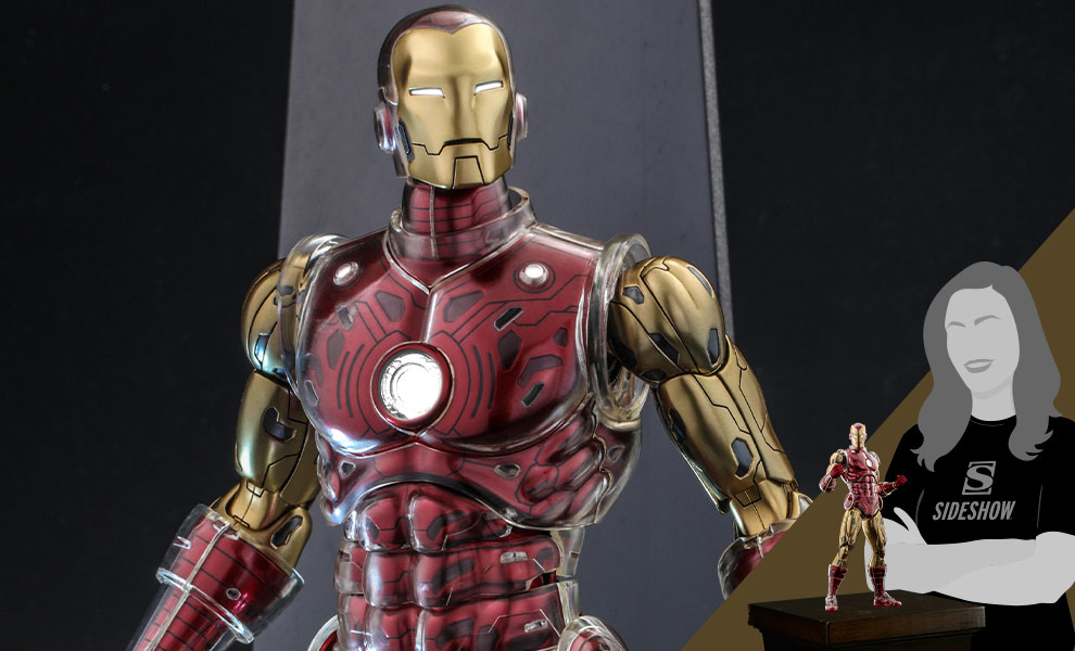 Gallery Feature Image of Iron Man Sixth Scale Figure - Click to open image gallery