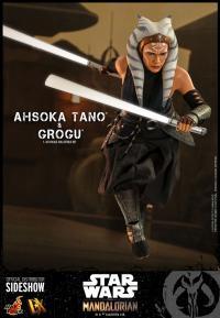 Gallery Image of Ahsoka Tano and Grogu Sixth Scale Figure Set