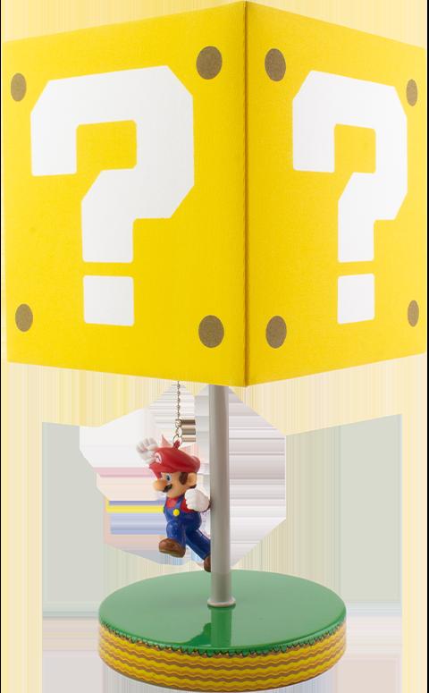 Paladone Super Mario Question Block Lamp Collectible Lamp