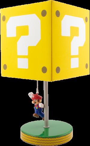 Super Mario Question Block Lamp Collectible Lamp