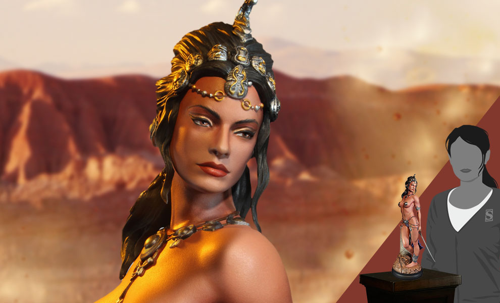 Gallery Feature Image of Dejah Thoris Princess of Mars Statue - Click to open image gallery