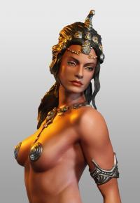 Gallery Image of Dejah Thoris Princess of Mars Statue