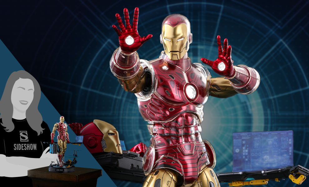 Gallery Feature Image of Iron Man (Deluxe) Sixth Scale Figure - Click to open image gallery