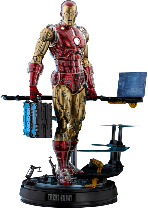 Hot Toys Iron Man (Deluxe) Sixth Scale Figure