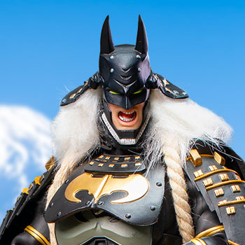 Ninja Batman 2.0 (Deluxe Version with Horse) Sixth Scale Figure