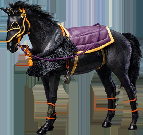 Star Ace Toys Ltd. Samurai Horse Sixth Scale Figure