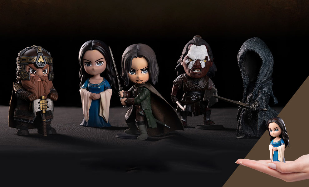 Gallery Feature Image of The Lord of the Rings Series Q-Bitz Collectible Set - Click to open image gallery