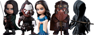 The Lord of the Rings Series Q-Bitz Collectible Set