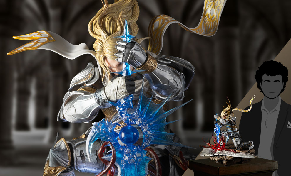 Gallery Feature Image of Soul Embrace Siegfried Quarter Scale Statue - Click to open image gallery
