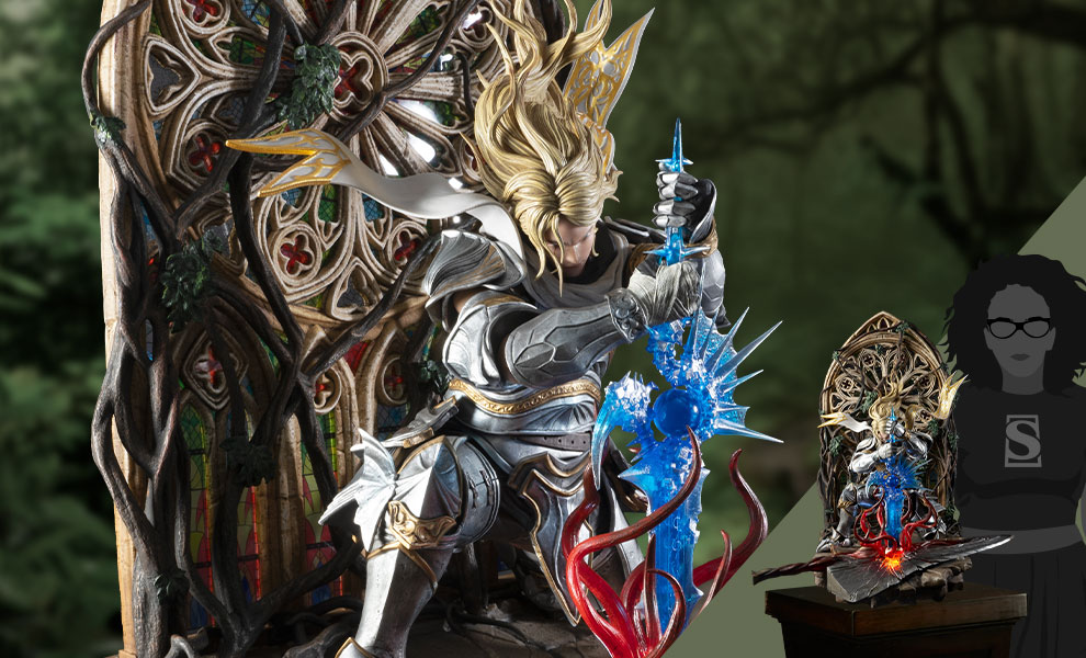 Gallery Feature Image of Soul Embrace Siegfried Deluxe Quarter Scale Statue - Click to open image gallery