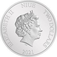 Gallery Image of Anakin Skywalker 1oz Silver Coin Silver Collectible