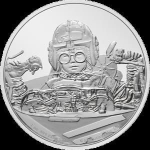 Anakin Skywalker 1oz Silver Coin Silver Collectible