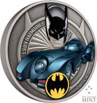 Gallery Image of 1989 Batmobile 1oz Silver Coin Silver Collectible