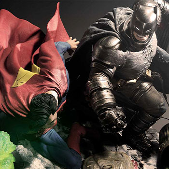 Batman Versus Superman Statue