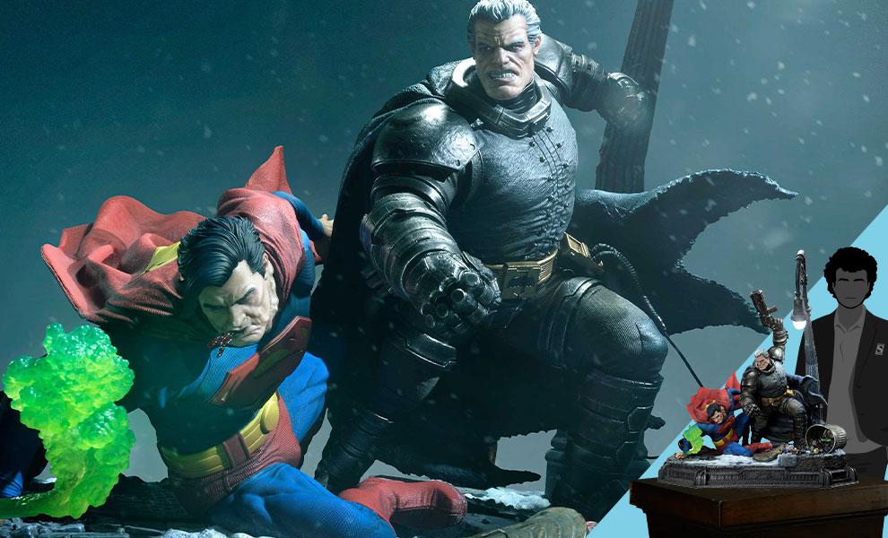 Gallery Feature Image of Batman Versus Superman (Deluxe Version) Statue - Click to open image gallery