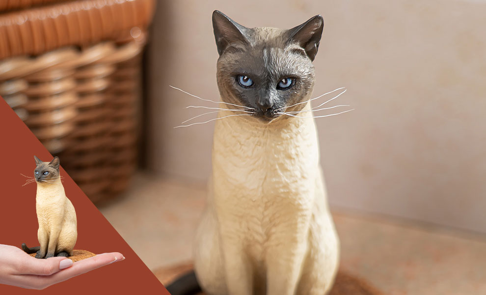 Gallery Feature Image of Siamese Cat Statue - Click to open image gallery