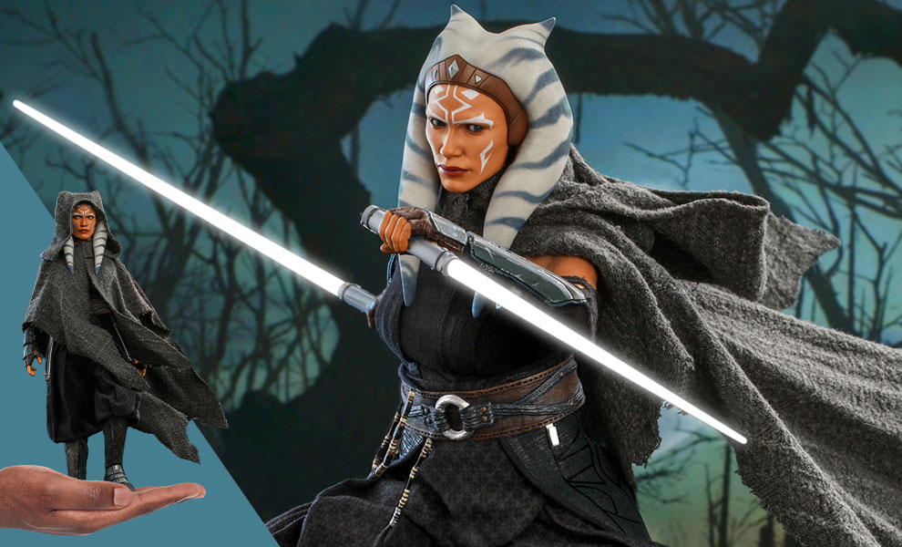Gallery Feature Image of Ahsoka Tano Sixth Scale Figure - Click to open image gallery