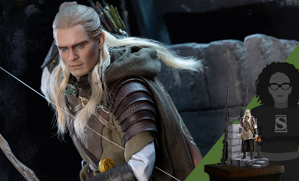 Gallery Feature Image of Legolas at Helm's Deep Sixth Scale Figure - Click to open image gallery