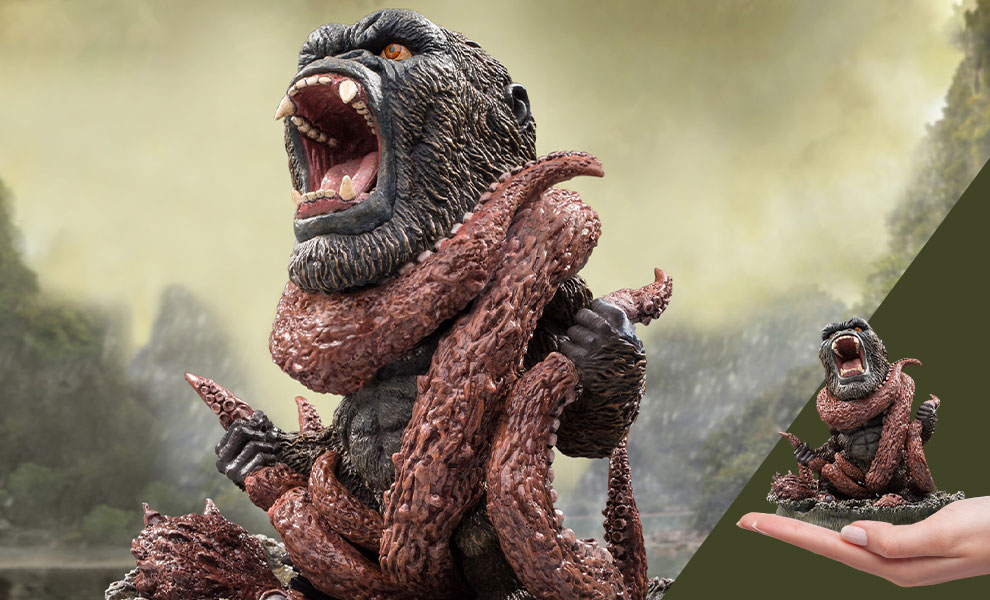 Gallery Feature Image of Kong Vs. Giant Octopus Diorama - Click to open image gallery