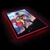 Gallery Image of Wonder Woman Comic Cover LED Poster Sign (Large) Wall Light