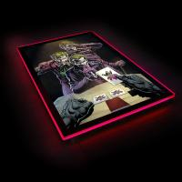 Gallery Image of Three Jokers Comic Cover LED Poster Sign (Large) Wall Light