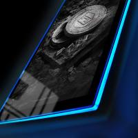 Gallery Image of Zack Snyder's Justice League B&W Film Can LED Poster Sign (Large) Wall Light