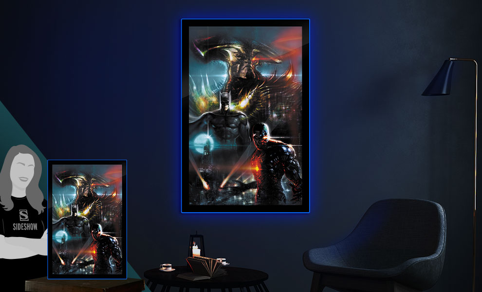Gallery Feature Image of Zack Snyder's Justice League #59C LED Poster Sign (Large) Wall Light - Click to open image gallery