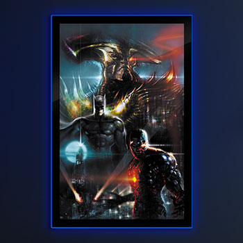 Zack Snyder's Justice League #59C LED Poster Sign (Large) Wall Light
