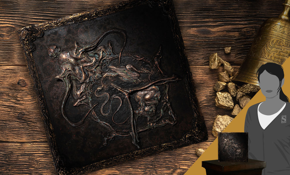 Gallery Feature Image of Reincarnation Relief Sculpture Statue - Click to open image gallery