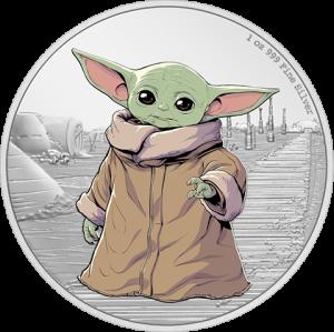 The Child 1oz Silver Coin Silver Collectible