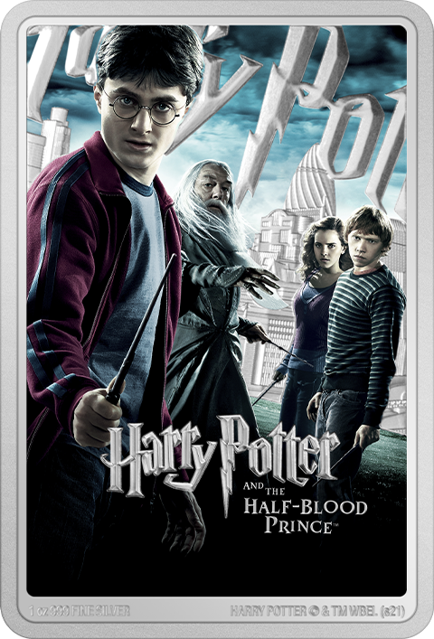 New Zealand Mint Harry Potter and the Half-Blood Prince 1oz Silver Coin Silver Collectible
