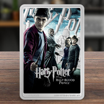 Harry Potter and the Half-Blood Prince 1oz Silver Coin Silver Collectible