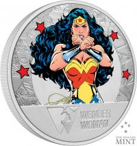 Gallery Image of Wonder Woman 80th Anniversary 1oz Silver Coin Silver Collectible
