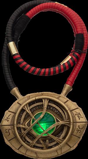 Doctor Strange Eye of Agamotto Light-Up Pendant Necklace Jewelry