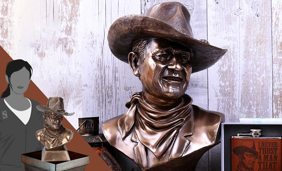 Gallery Feature Image of John Wayne Bust - Click to open image gallery