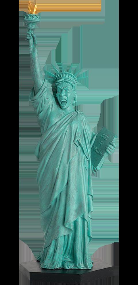 Eaglemoss Weeping Angel (Statue of Liberty) Figurine