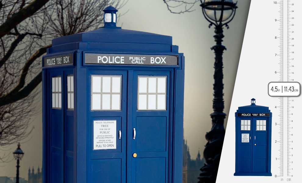 Gallery Feature Image of 11th Doctor's TARDIS Figurine - Click to open image gallery