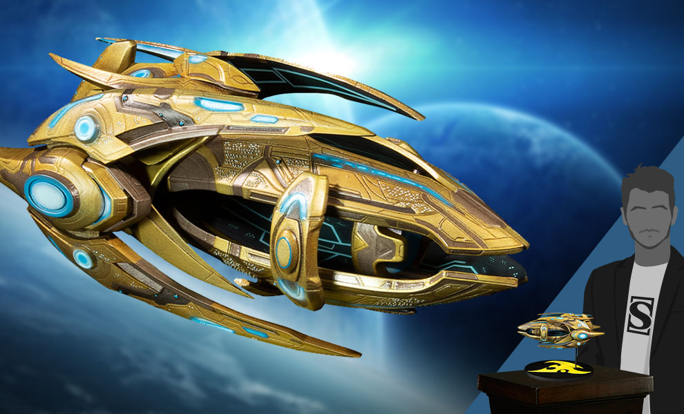 Gallery Feature Image of Protoss Carrier Ship Replica - Click to open image gallery