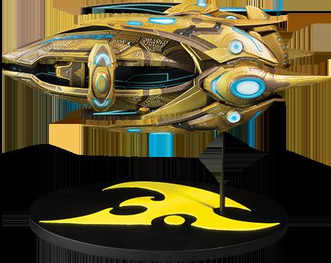 Dark Horse Comics Protoss Carrier Ship Replica