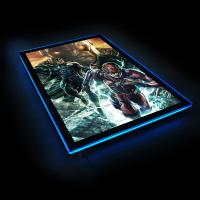 Gallery Image of Zack Snyder's Justice League #59B LED Poster Sign (Large) Wall Light