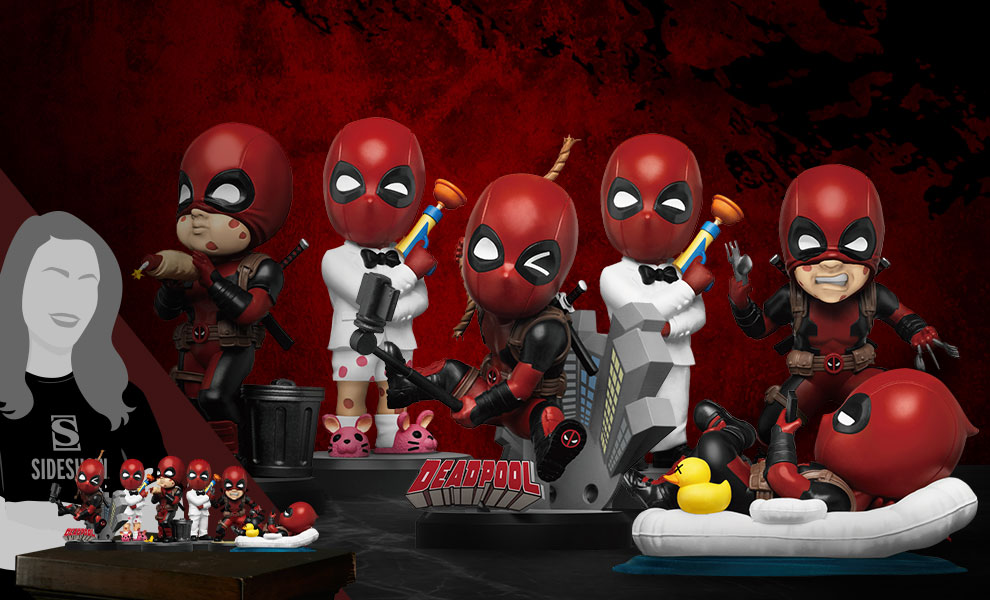 Gallery Feature Image of Deadpool Mini Egg Attack Series Collectible Set - Click to open image gallery