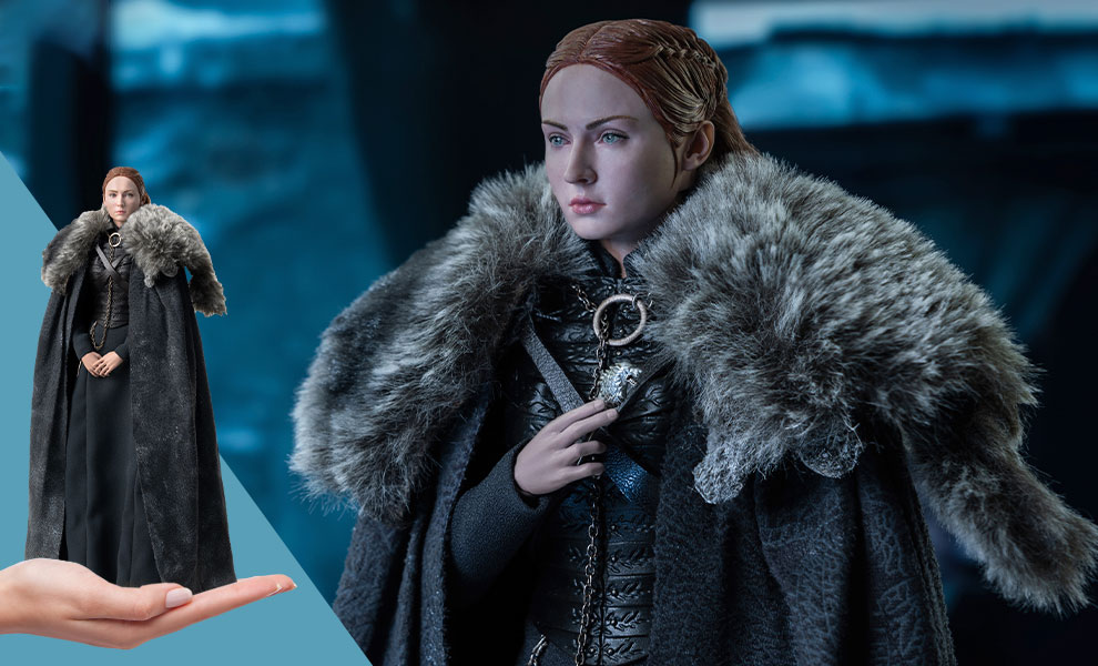 Gallery Feature Image of Sansa Stark (Season 8) Sixth Scale Figure - Click to open image gallery